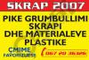 PUNONJES/E SKRAP 2007, KERKON: PUNETOR/E PER SELEKSIONIMIN E PLASTIKES