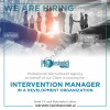 """MENAXHER PROJEKTI Profesionisti Recruitment Agency on behalf of a development organization in Albania, is looking for a suitable candidate for the position of """"Intervention Manager"""". Project goal is to contribute to economic growth and increase employment"""